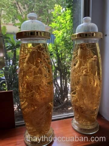 Rượu Sâm Hàn Quốc